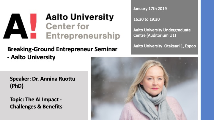 Breaking-Ground Entrepreneur Seminar